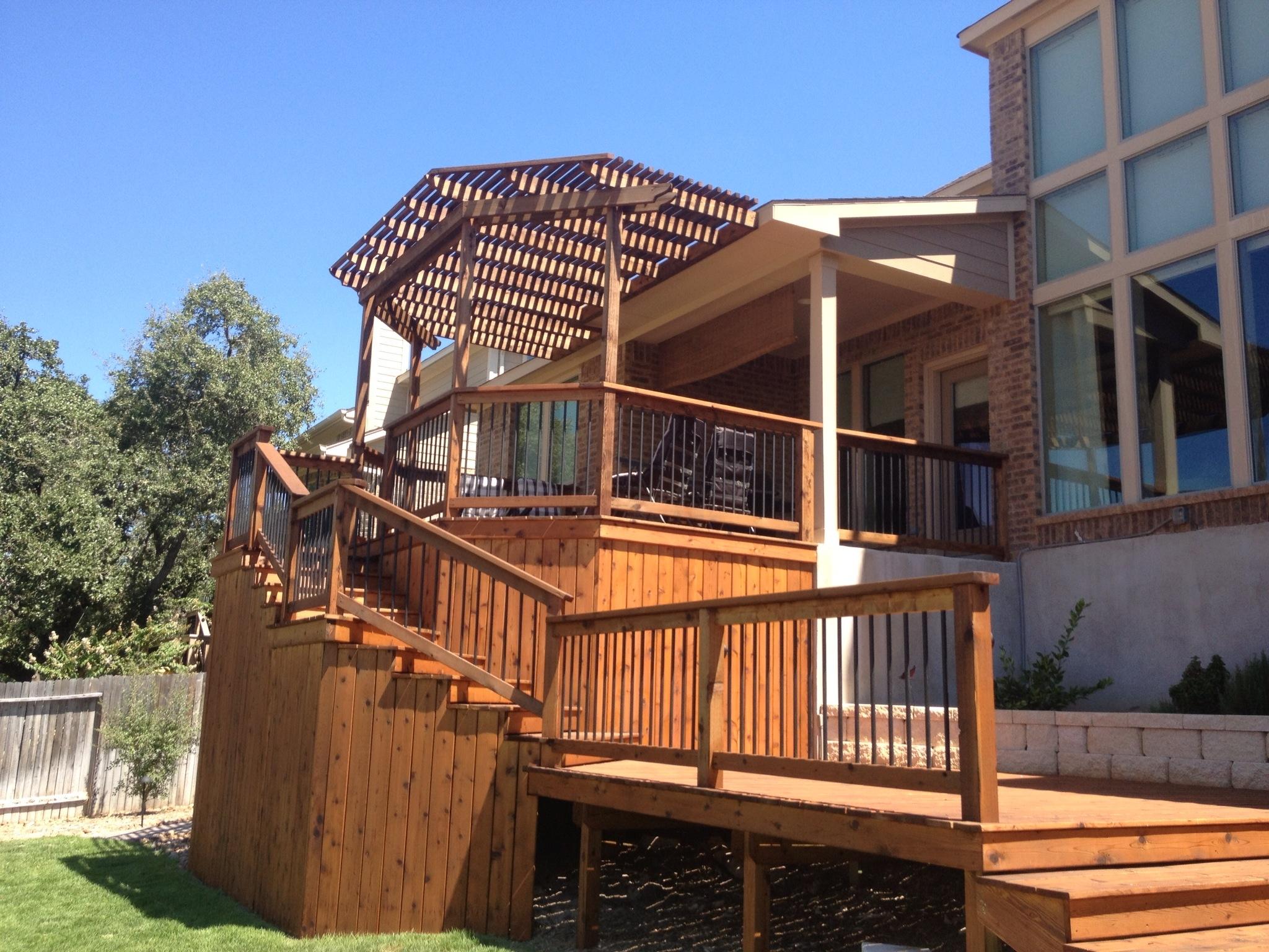 Cedar Deck and Arbor