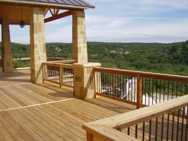 Cedar Deck with a view