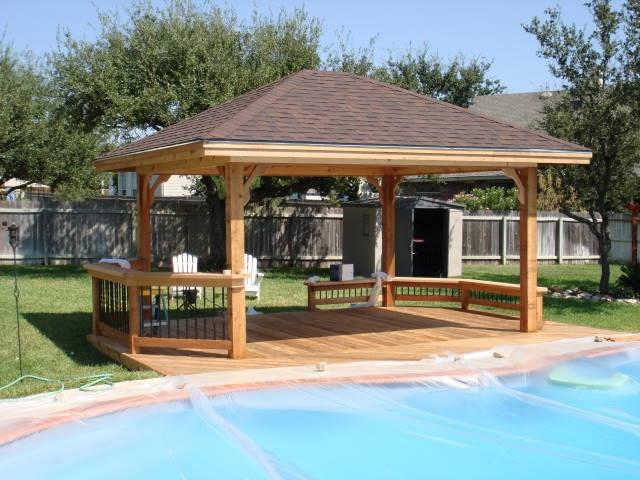 Cedar Pool Cabana