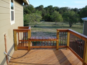 Elevated Cedar Deck #2