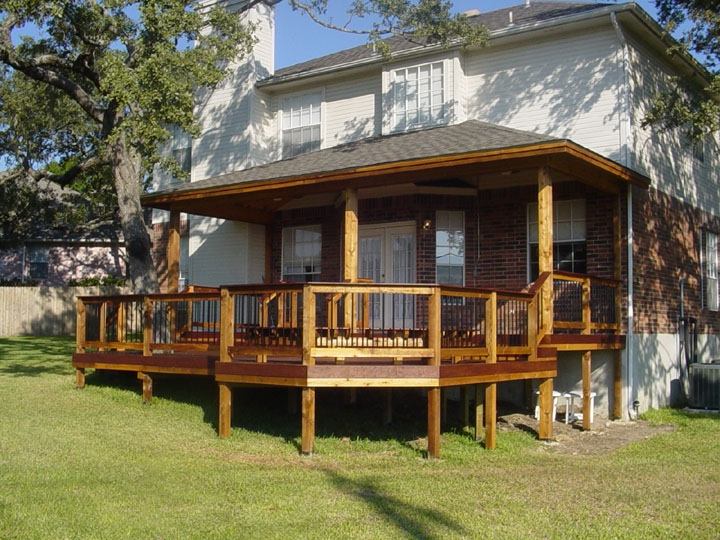Mixed Composition Deck and Patio Cover