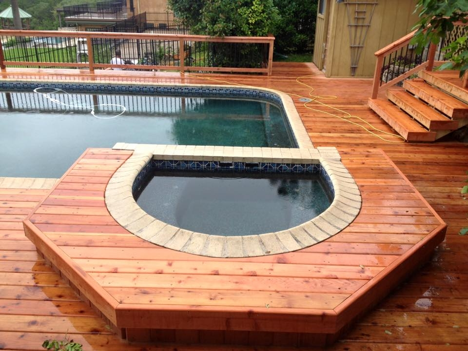 Redwood Spa Seat