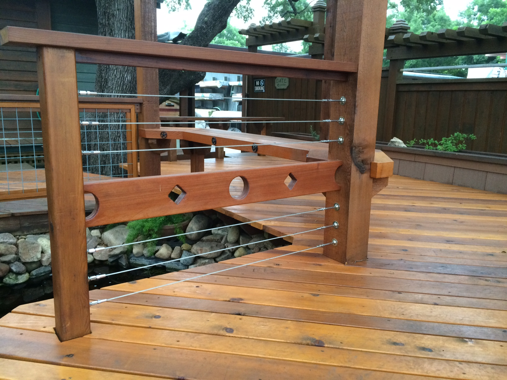 Uncategorized Deck Cable Railing lumber yards san antonio south texas braundera yard hardware deck accessories