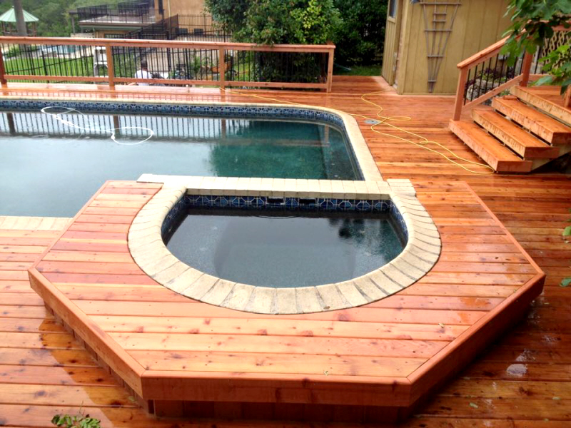 Redwood Pool Deck