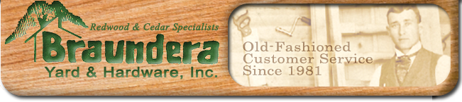 Lumber Yards San Antonio South Texas | Braundera Yard & Hardware