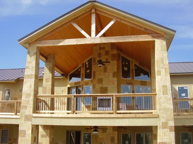 2nd Story Cedar Deck