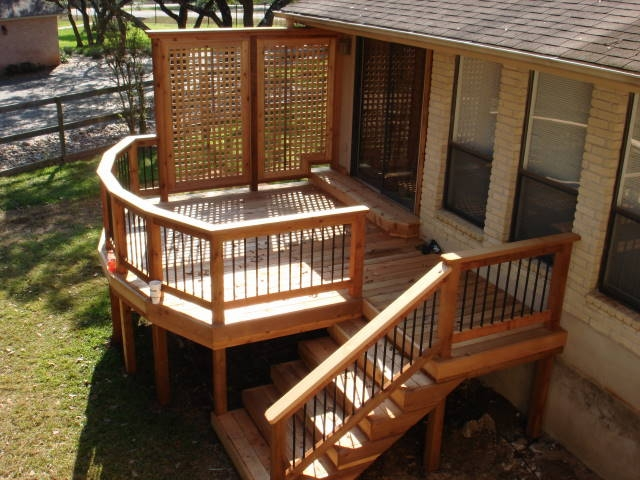 Cedar Bedroom Deck