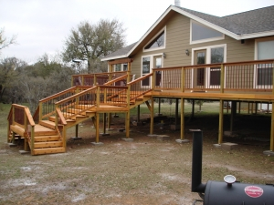 Elevated Cedar Deck