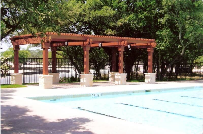 Poolside Shade Arbor
