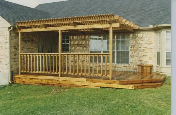 Shaded Cedar Deck